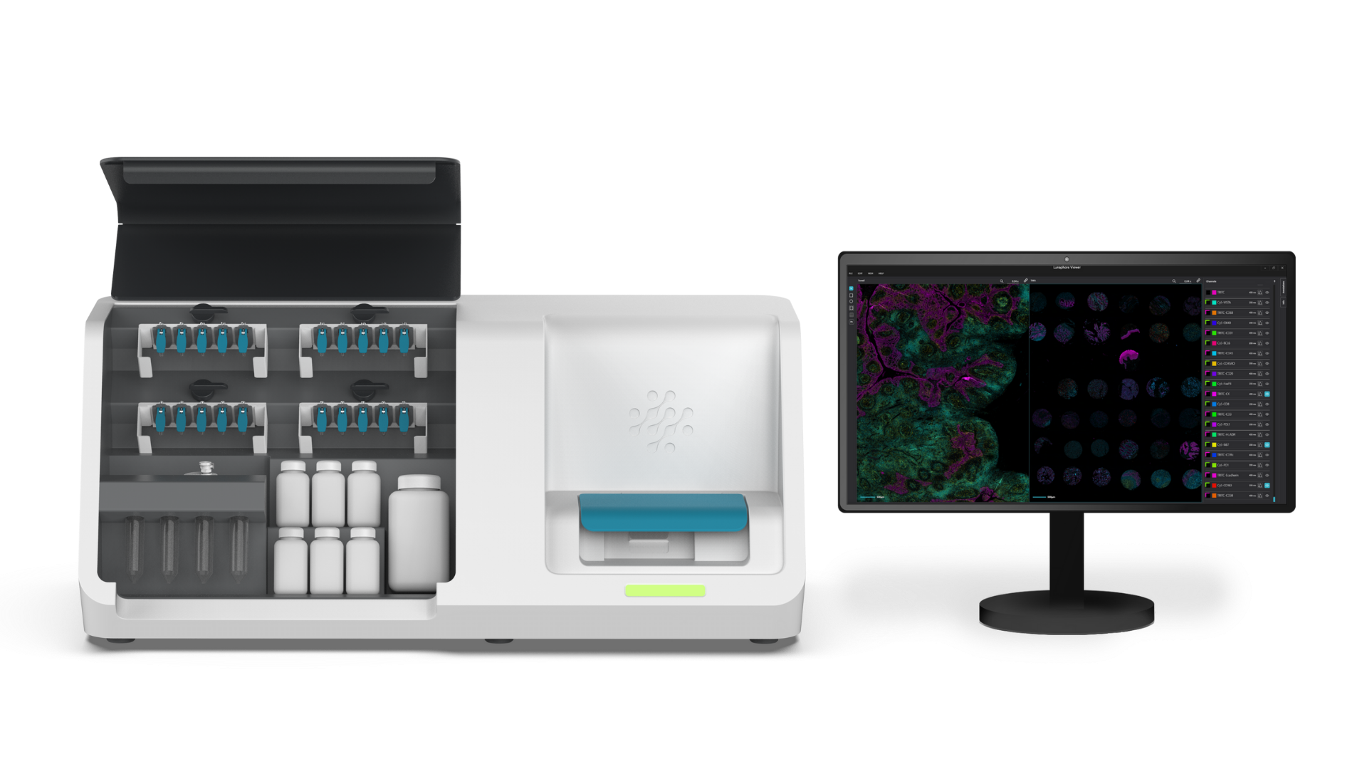 Your all in one, sample-in data-out hyperplex spatial biology solution.